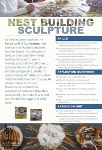 nest building sculpture sm