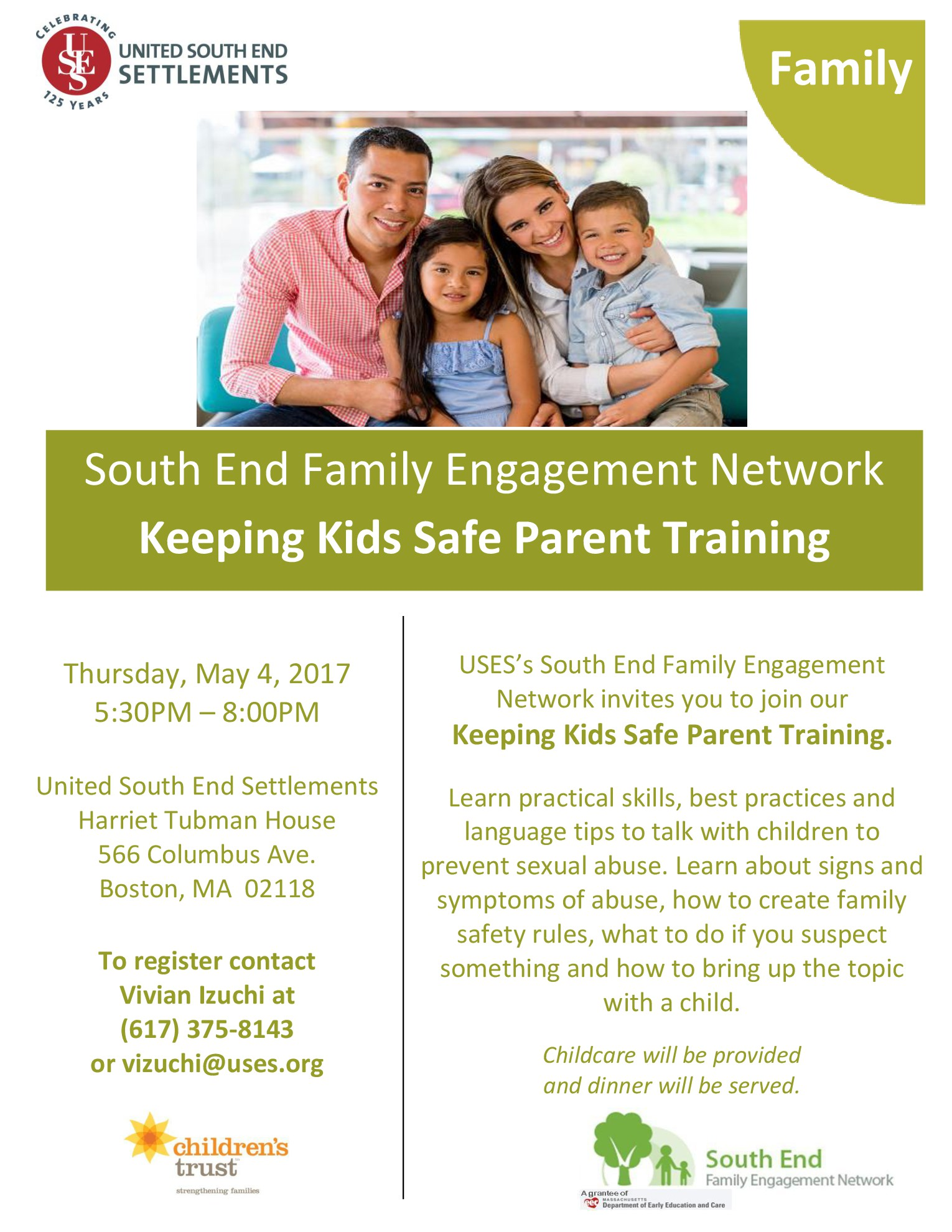 Keeping Kids Safe Parent Training