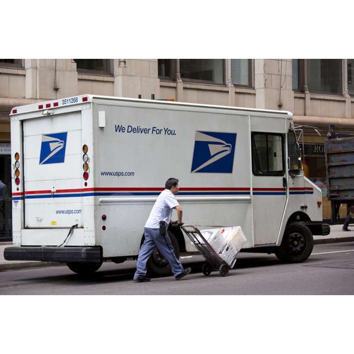 usps truck driver