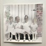 Children at the Gate. 9in x 9in $48
